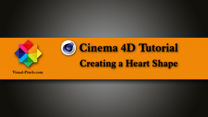 Cinema 4D Tutorial: Fastest way to create a heart shape