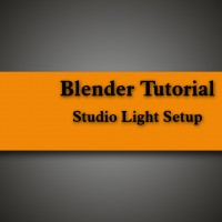 Studio Light Setup in Blender