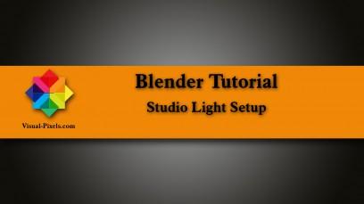 Studio Light Setup in Blender